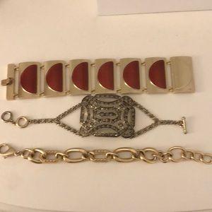 Set of 3 jewelmint bracelets!